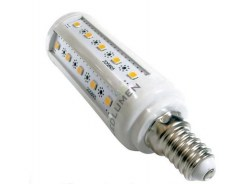 9 LED žárovka CT30 E14 36xSMD2835 6W 820lm WW
